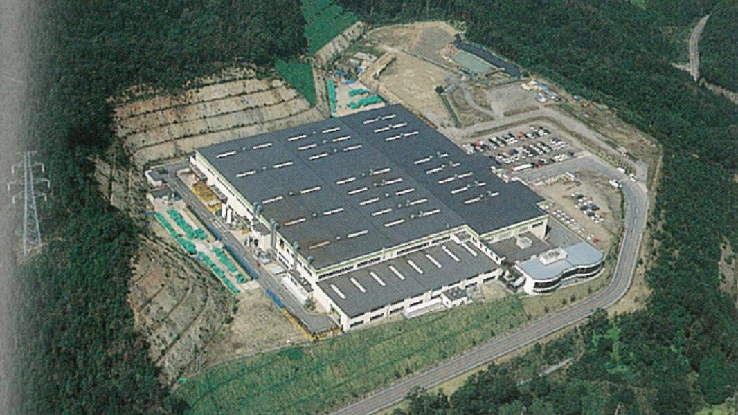 額田工場操業開始
