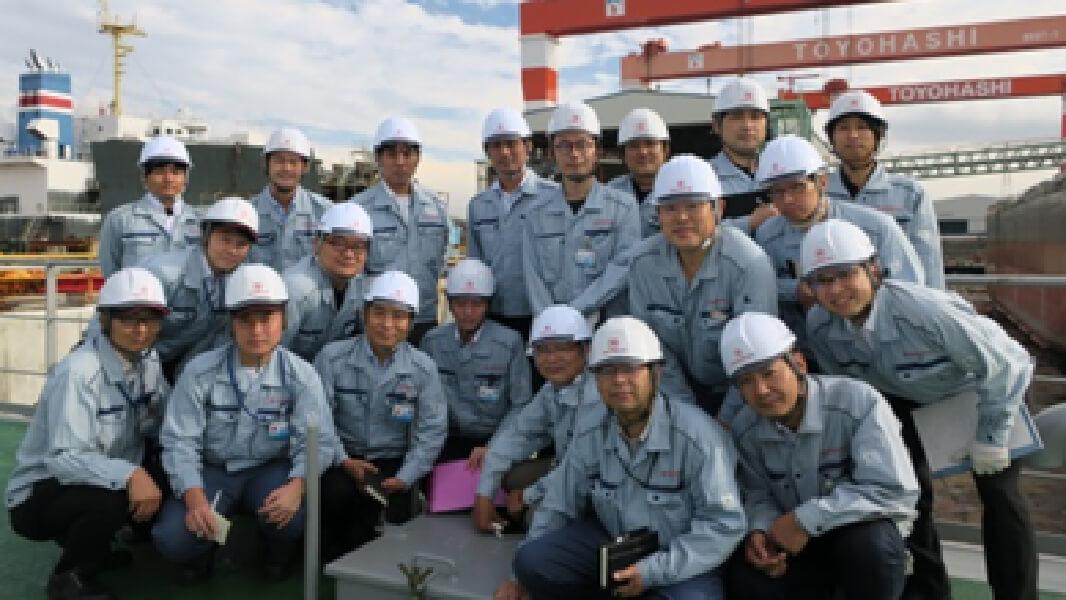 見学会(2018年度/株式会社 新来島豊橋造船)