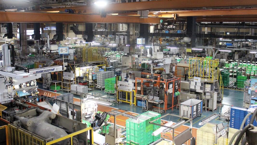 内装部品・電子部品の生産をメインとした電子樹脂部品で女性にも働きやすい工場