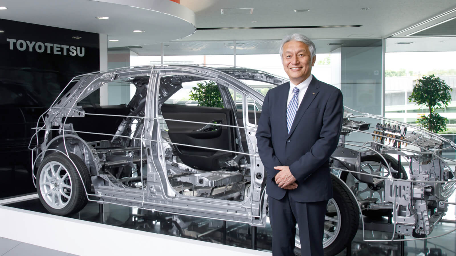 豊田鉃工株式会社 取締役社長 岩瀬 次郎